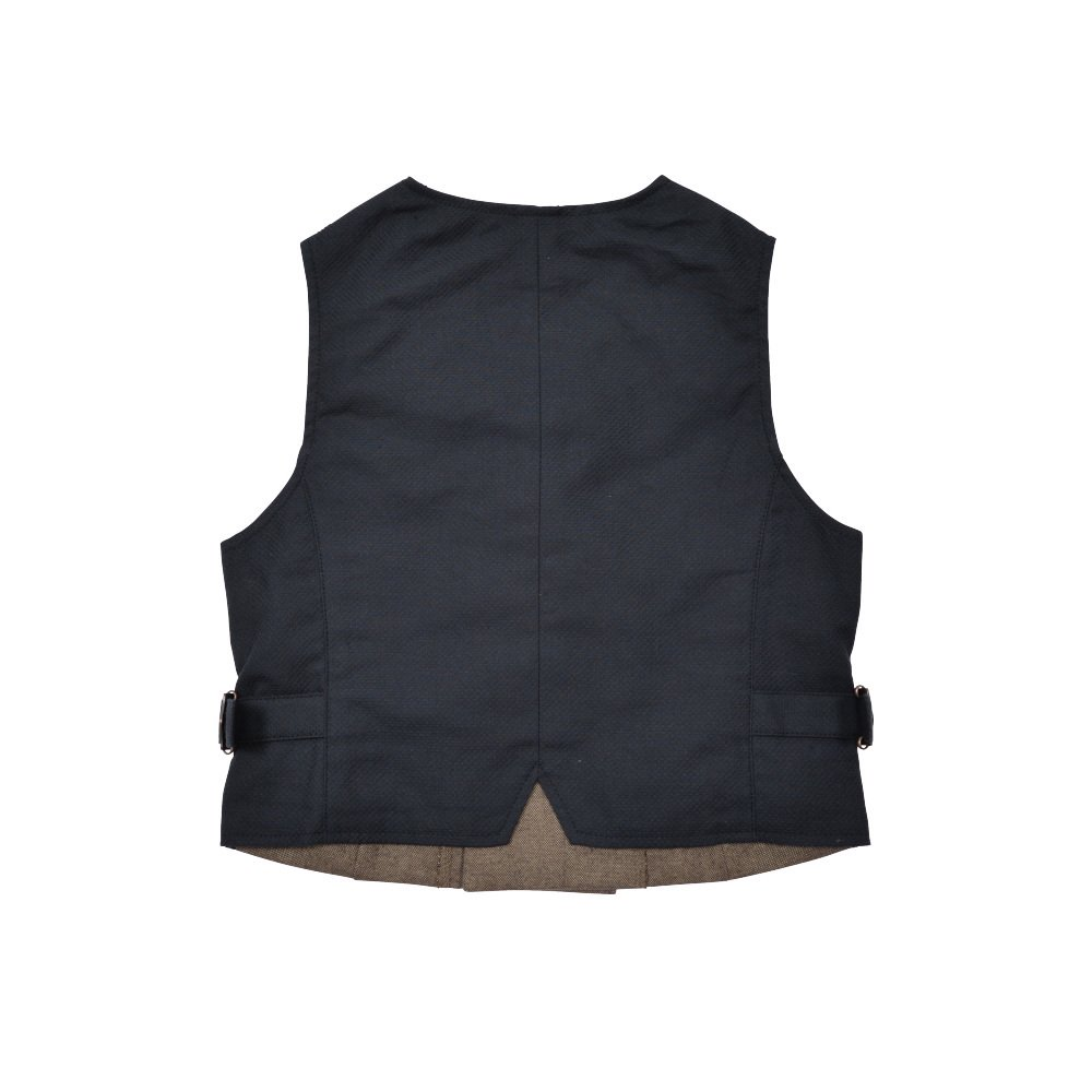 Double-Breasted Vest brown img1
