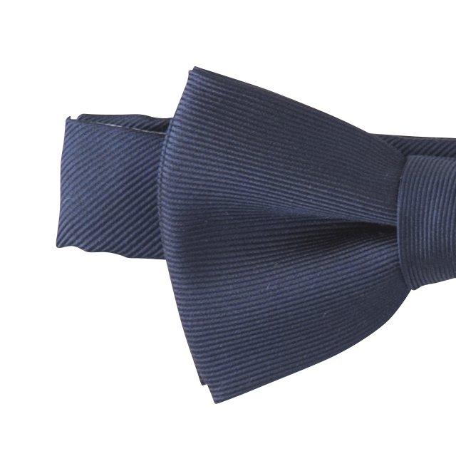 Plain Bow Tie navy img1