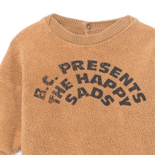 2018AW No.218190 The Happysads Sheep Skin Fleece Sweatshirt img1