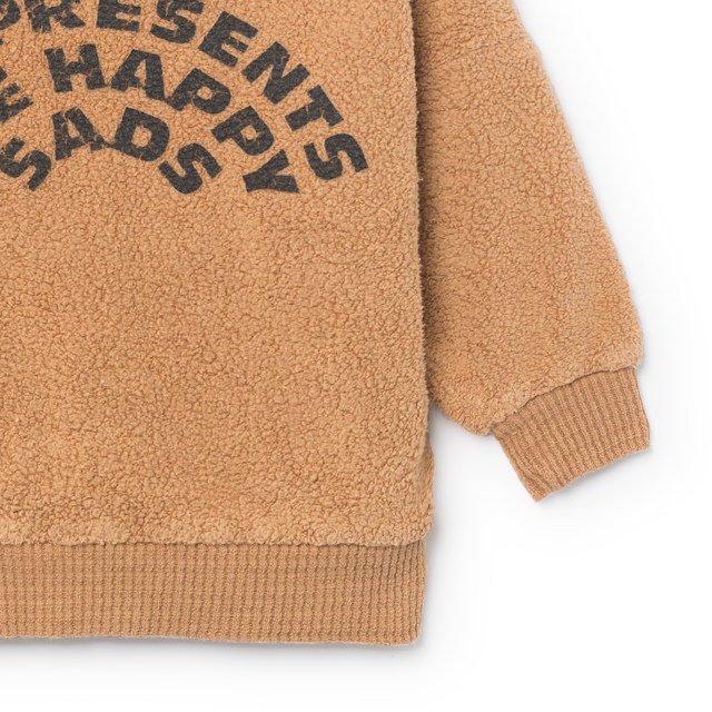 2018AW No.218190 The Happysads Sheep Skin Fleece Sweatshirt img2