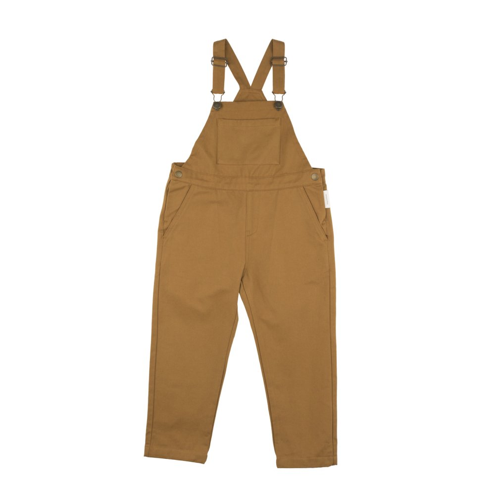【WINTER SALE 20%OFF】No.132 solid overall dark mustard img