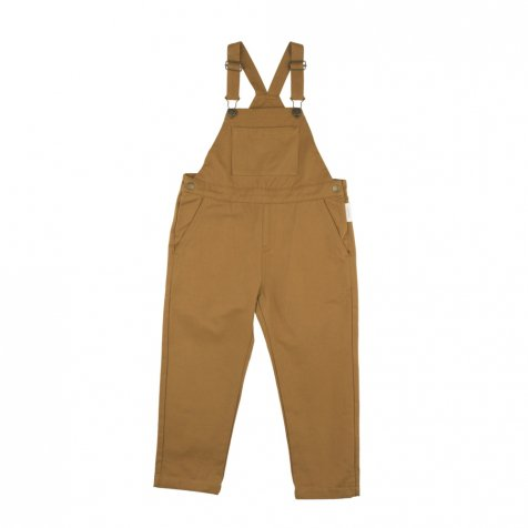 【40%OFF】No.132 solid overall dark mustard