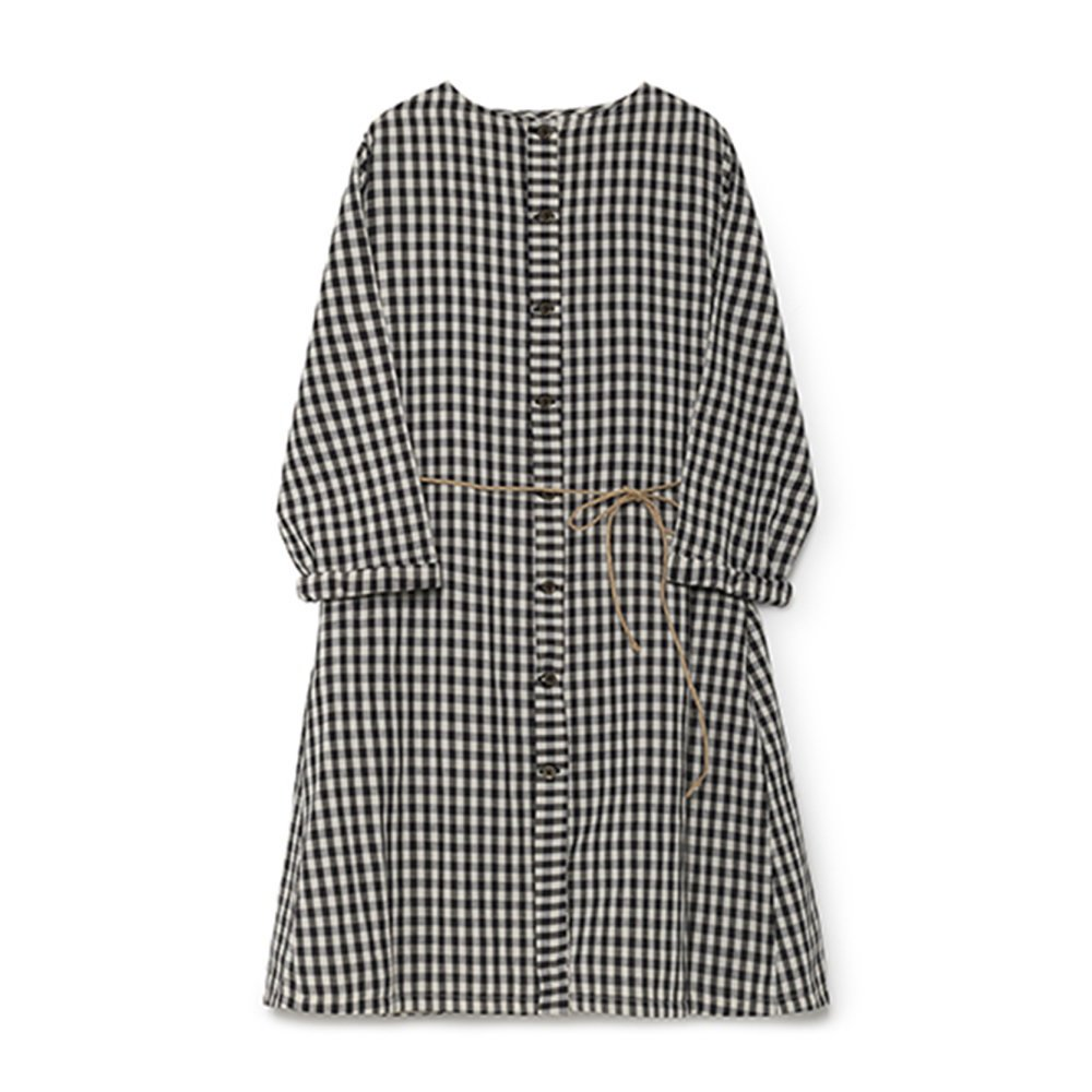 Checked Sack Dress Women img1