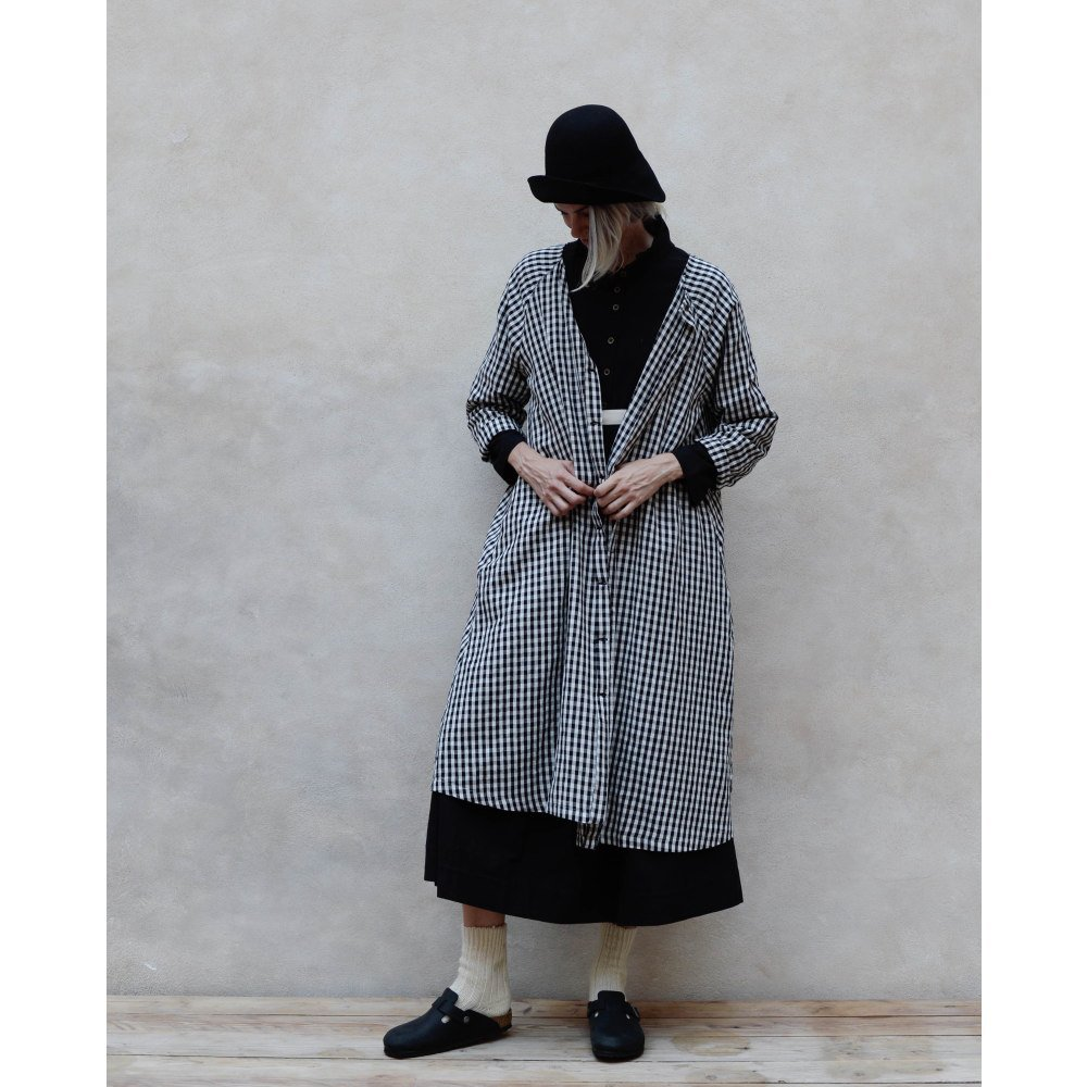 【WINTER SALE 20%OFF】Checked Sack Dress Women img3