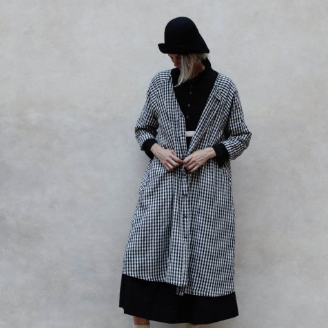 【WINTER SALE 20%OFF】Checked Sack Dress Women