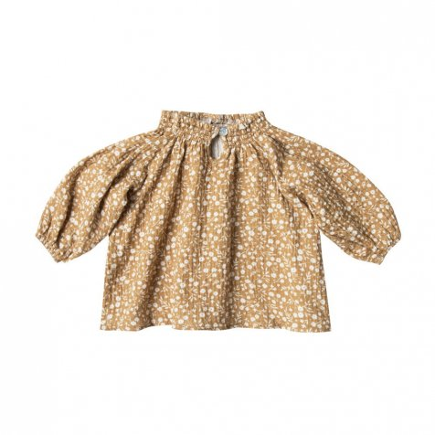 quincy blouse marigold