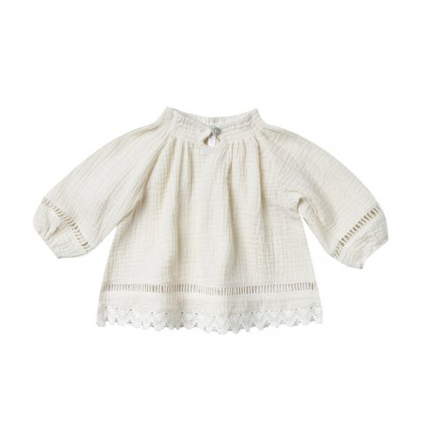 quincy blouse ivory