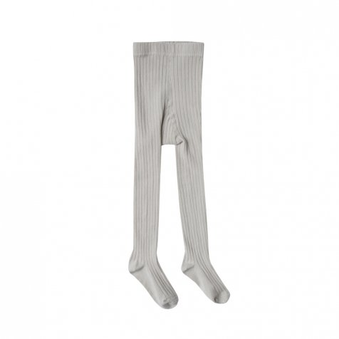 【SUMMER SALE 30%OFF】solid ribbed tights dove