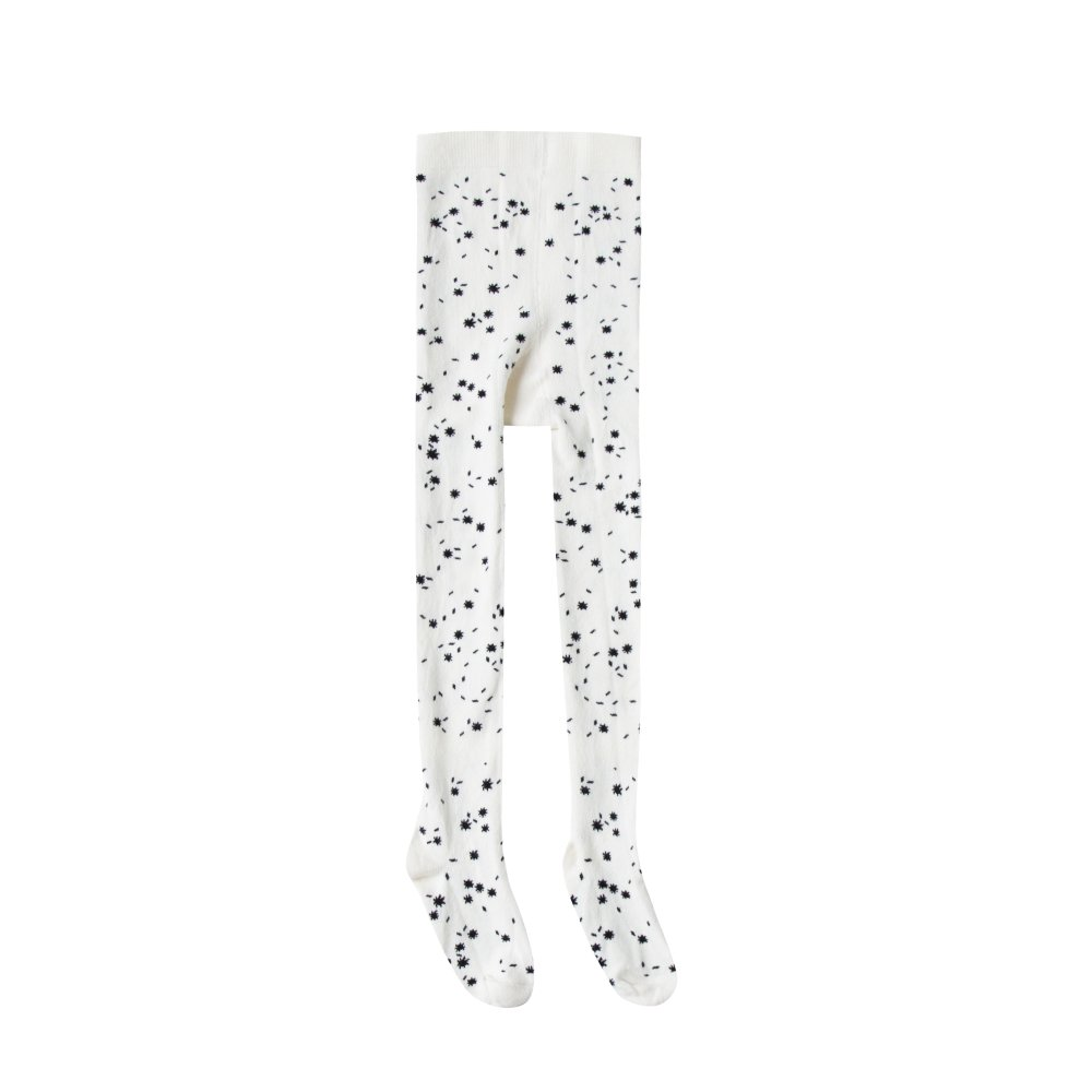 【SUMMER SALE 30%OFF】printed ribbed tights scattered stars img