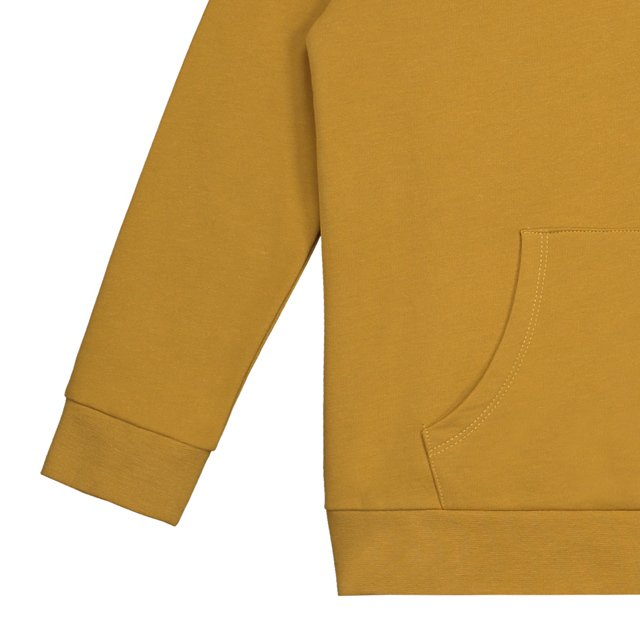 Classic Hooded Sweater Mustard img2