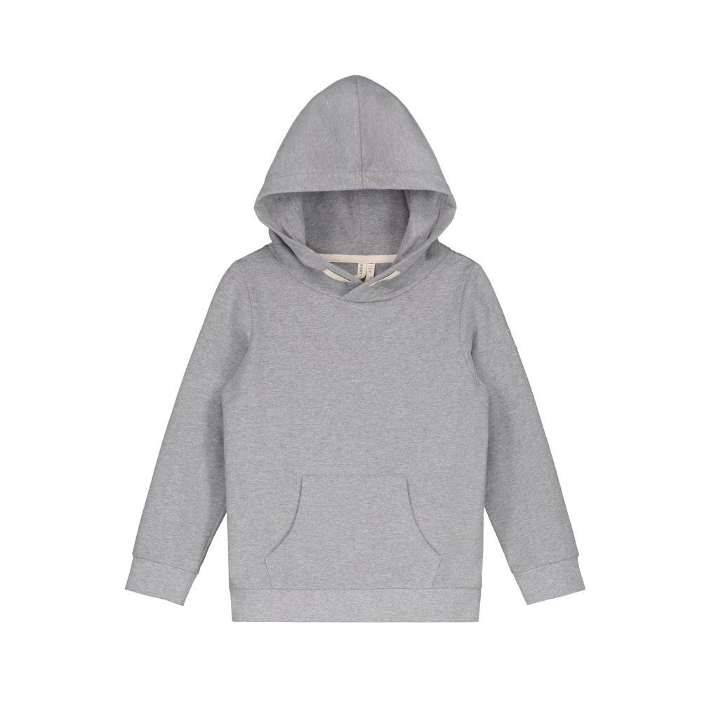 Classic Hooded Sweater Grey Melange img