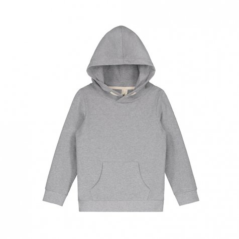 【SUMMER SALE 30%OFF】Classic Hooded Sweater Grey Melange