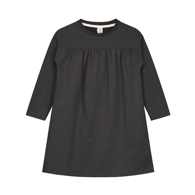 Pleated Dress Nearly Black img