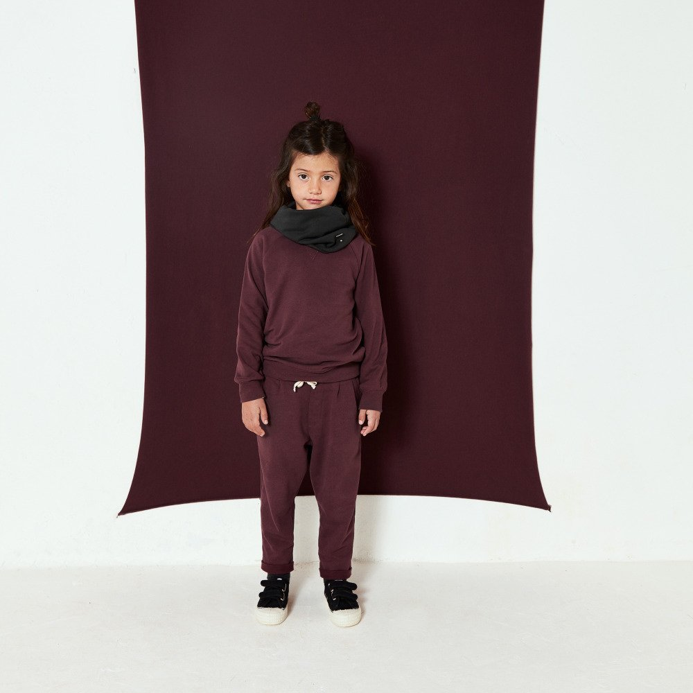 Baggy Pants Plum img1