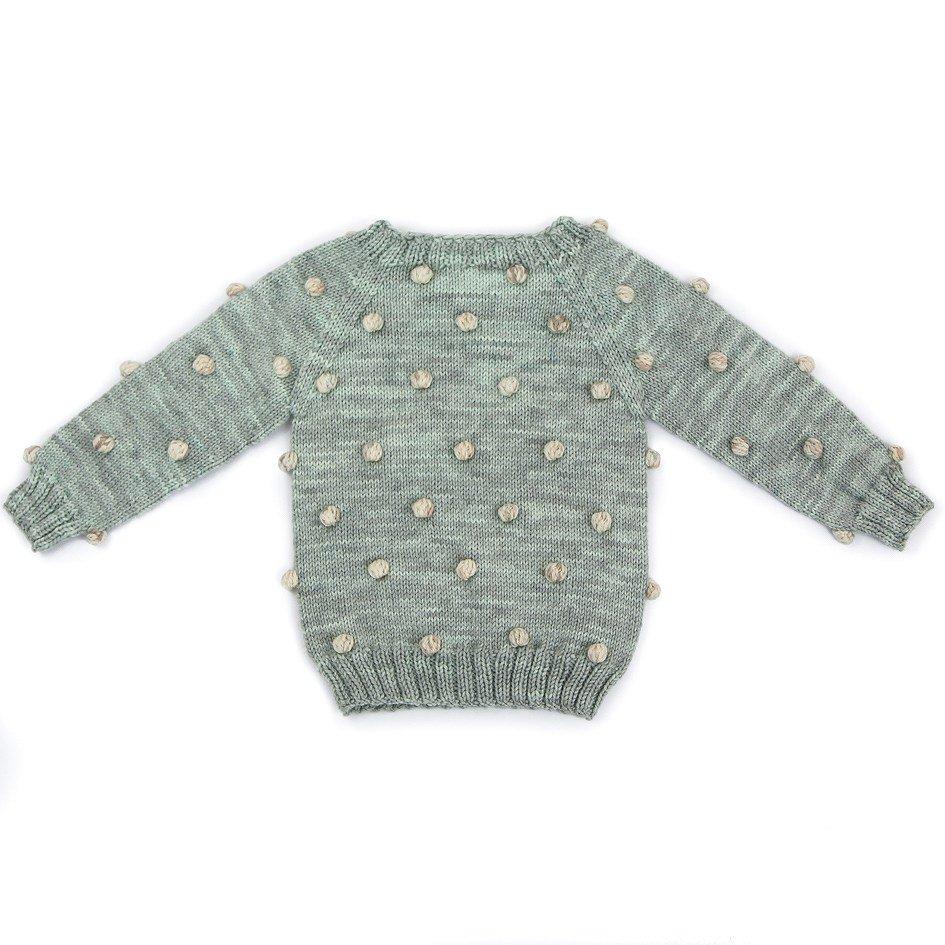 【30%OFF】Viola Sweater Celadon/Natural img