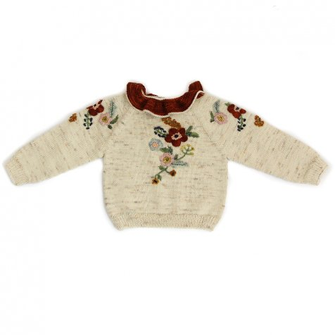 【9月入荷予定】Stephanie Sweater Natural