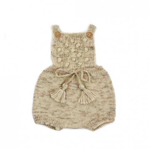 【9月入荷予定】Ravena Romper Natural
