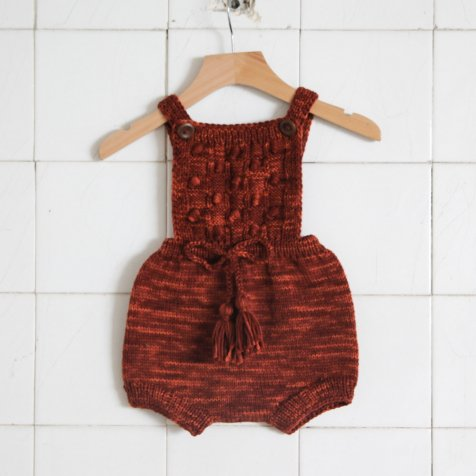 【WINTER SALE 20%OFF】Ravena Romper Maroon