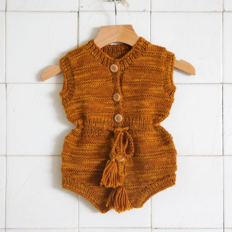【9月入荷予定】Mira Playsuit Gold