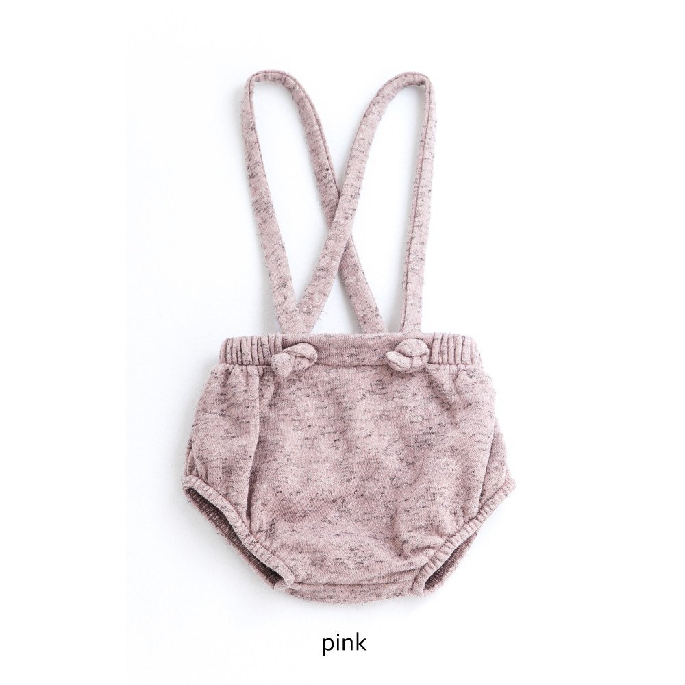 【WINTER SALE 20%OFF】W12918. PLUSH COULOTTE + SUSPENDERS img4