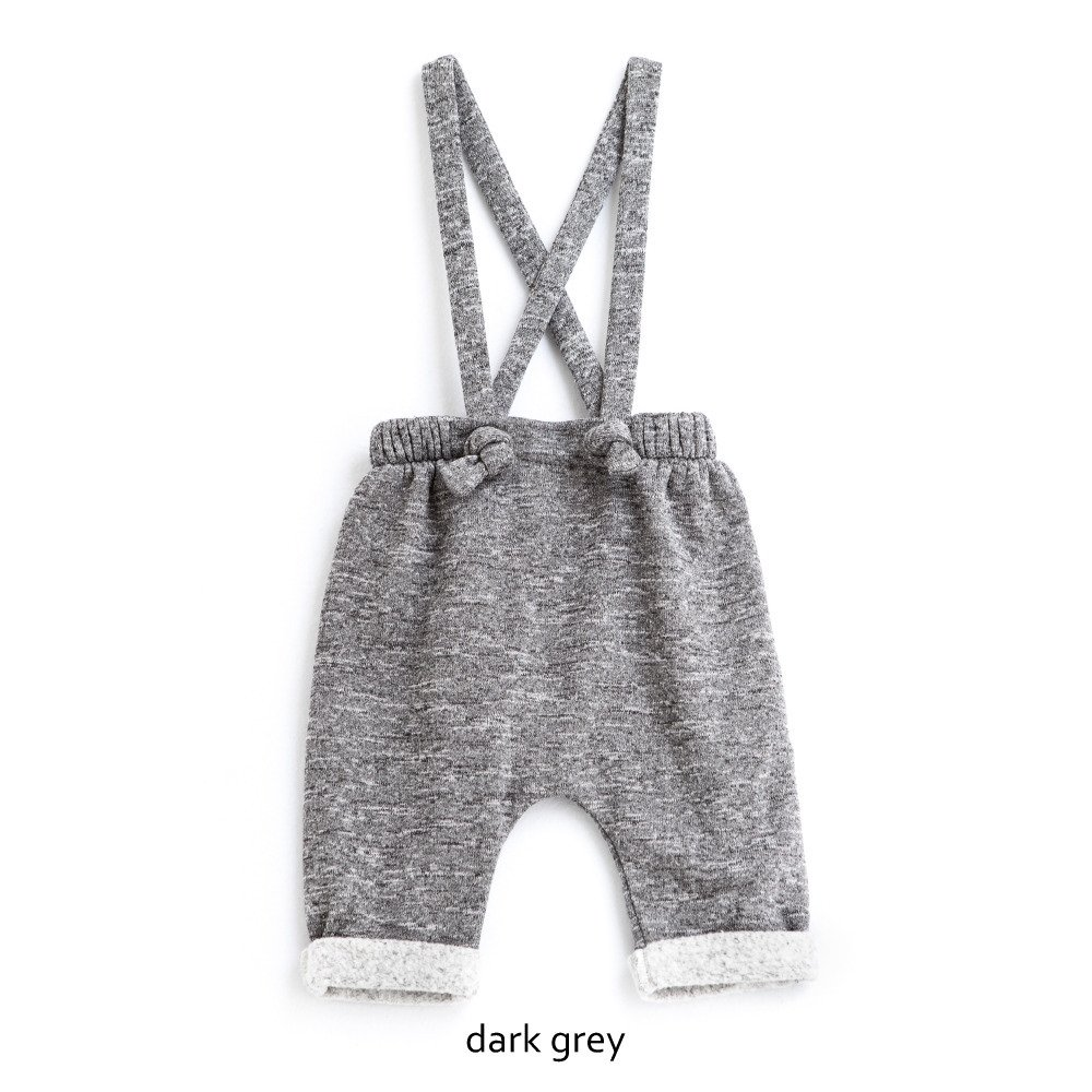 【WINTER SALE 20%OFF】W13118. BABY PLUSH PANTS SUSPENDERS img7