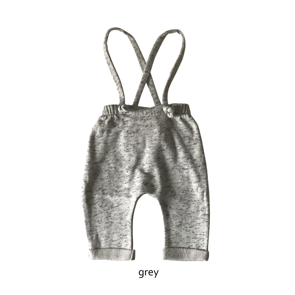 【WINTER SALE 20%OFF】W13118. BABY PLUSH PANTS SUSPENDERS img8