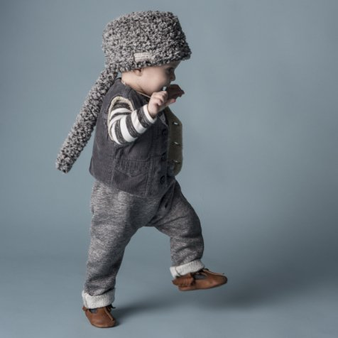 【WINTER SALE 20%OFF】W13118. BABY PLUSH PANTS SUSPENDERS