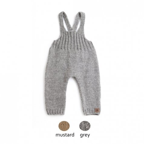 【WINTER SALE 20%OFF】W40718. KNITTED OVERALLS