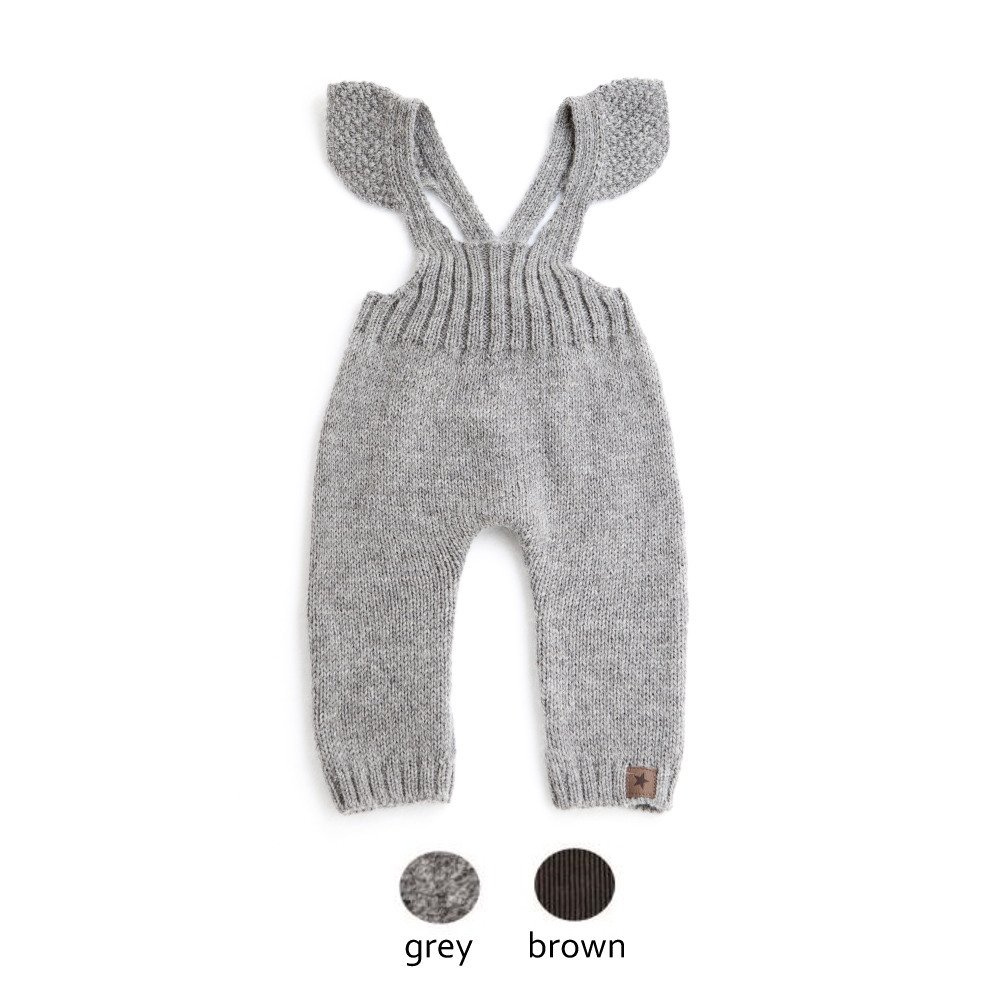 【WINTER SALE 20%OFF】W40818. GIRL KNITTED OVERALLS img