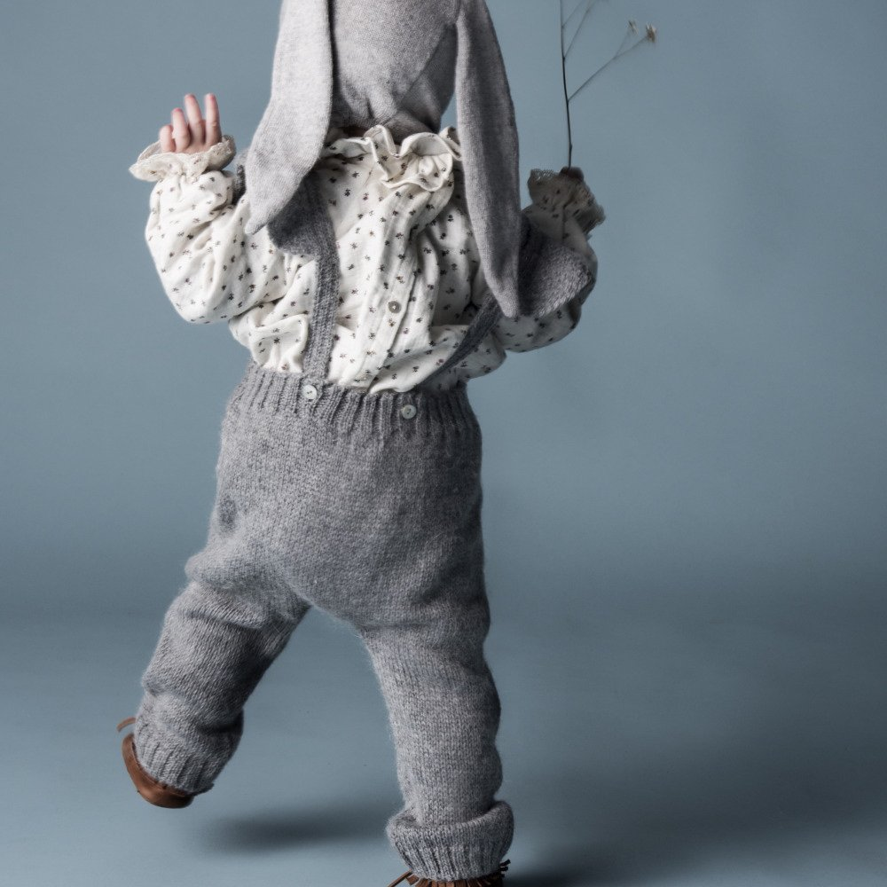 【WINTER SALE 20%OFF】W40818. GIRL KNITTED OVERALLS img8