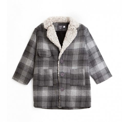 【40%OFF】W61618 . CHECKERED COAT