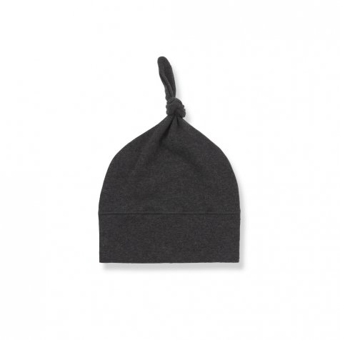【WINTER SALE 20%OFF】FINA beanie w/knot anthracite