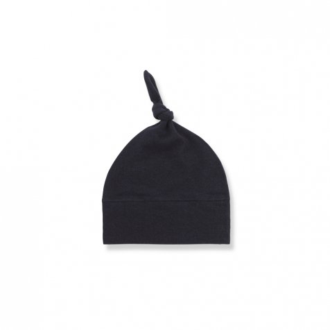 【WINTER SALE 20%OFF】FINA beanie w/knot blue