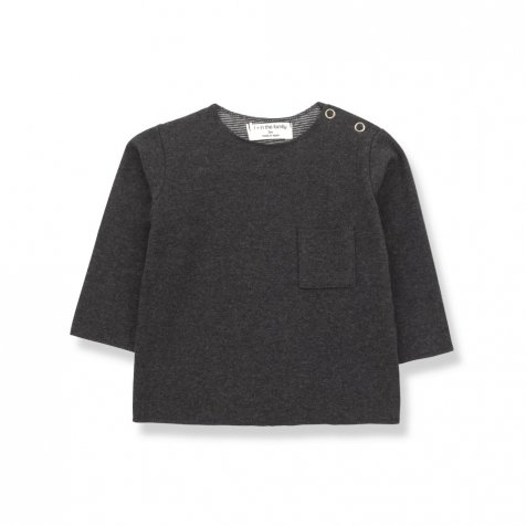 【WINTER SALE 20%OFF】ORIOL t-shirt anthracite