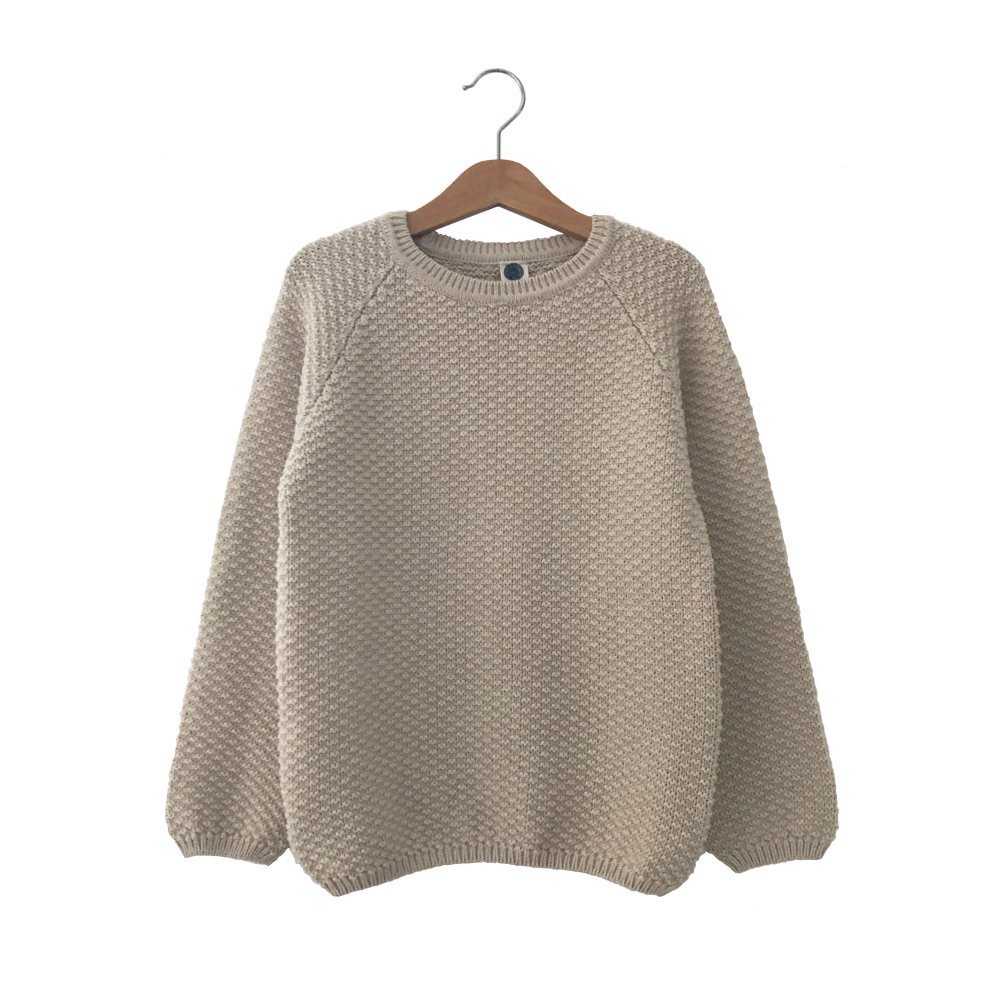 【SUMMER SALE 30%OFF】ARMEL Sweater HOT MILK img