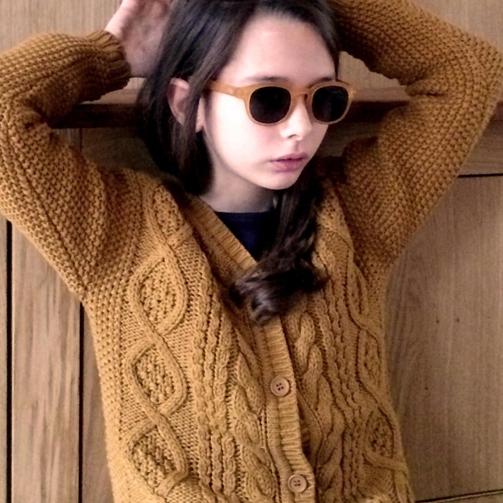 【WINTER SALE 20%OFF】MILOU Cardigan CURCUMA img6