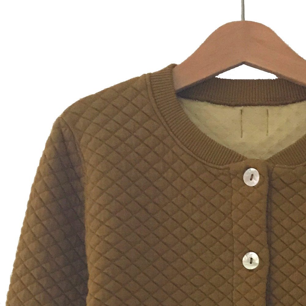 【SUMMER SALE 30%OFF】GIO Quilted Jacket CURCUMA img1