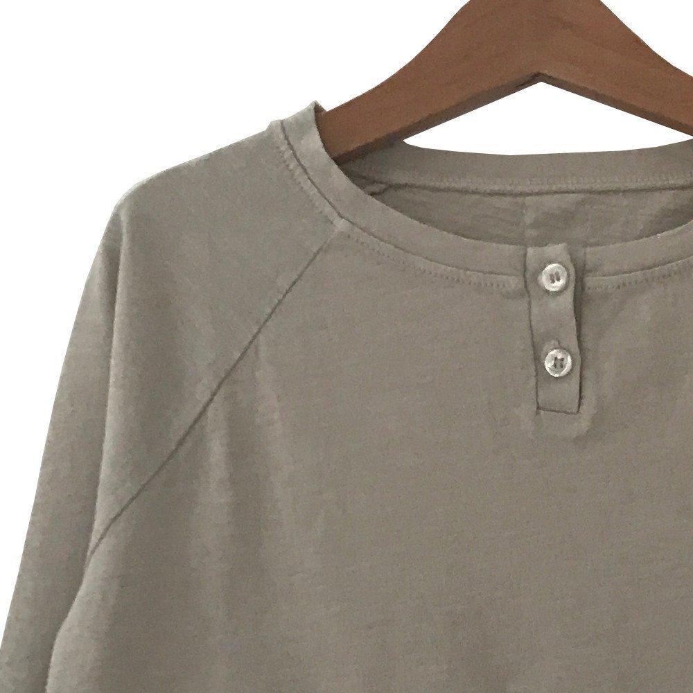 【WINTER SALE 20%OFF】FLOO Long Sleeved Tee BRUME img1