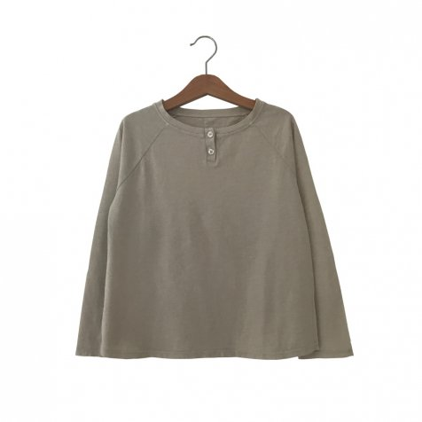 FLOO Long Sleeved Tee BRUME