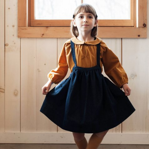 Eloise Pinafore Denim