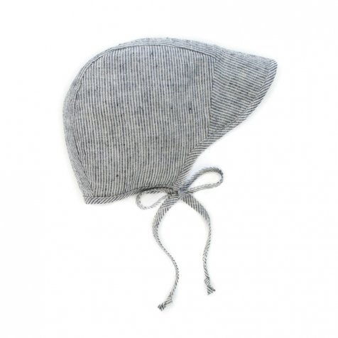 【再入荷】Brimmed bonnet Natural Stripe