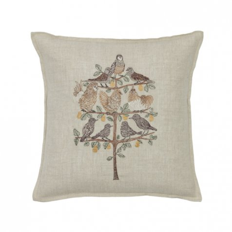 Partridge in a Pear Tree Pillow
