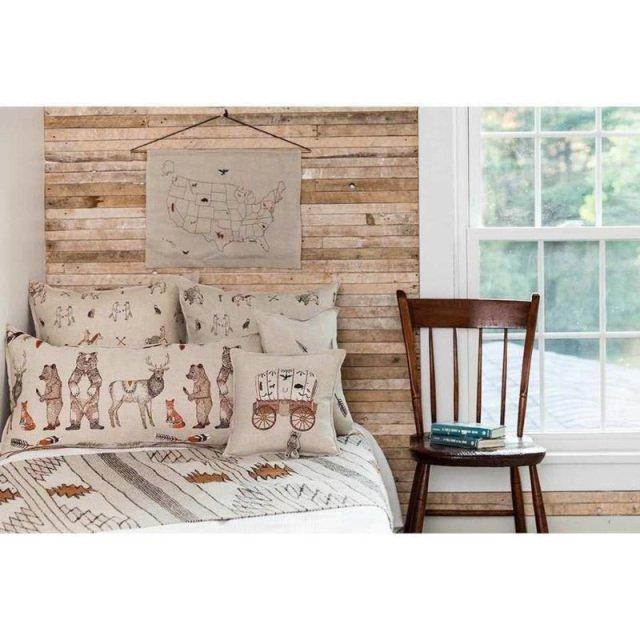 Raccoon Saddle Maker Wagon Pocket Pillow img7