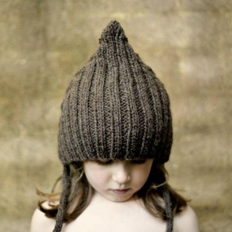【WINTER SALE 20%OFF】Chubby Pixie hat Chocolate