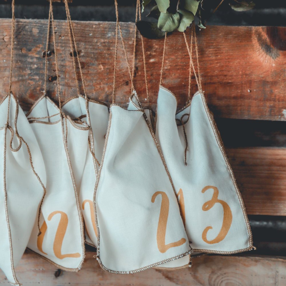 Advent Calender Gift Bags Natural img5