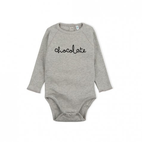 CHOCOLATE BODYSUIT GREY