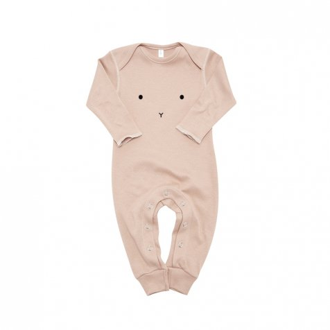 BUNNY PLAYSUIT CLAY