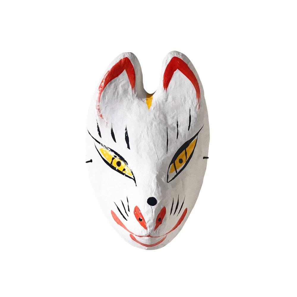 【1月31日出荷予定】狐(きつね)のお面 img