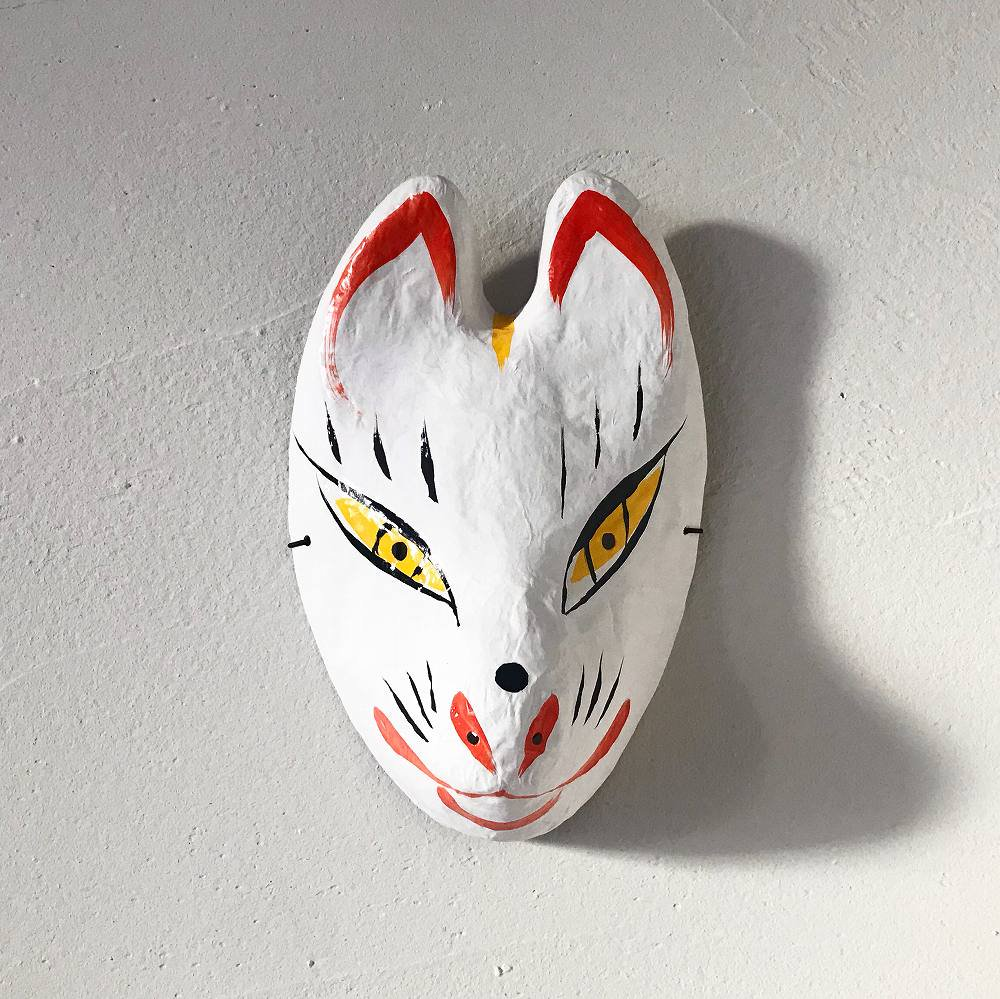 【1月31日出荷予定】狐(きつね)のお面 img2