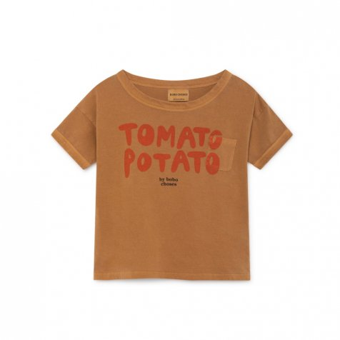 2019SS No.119009 Tomato Potato Short Sleeve T-Shirt